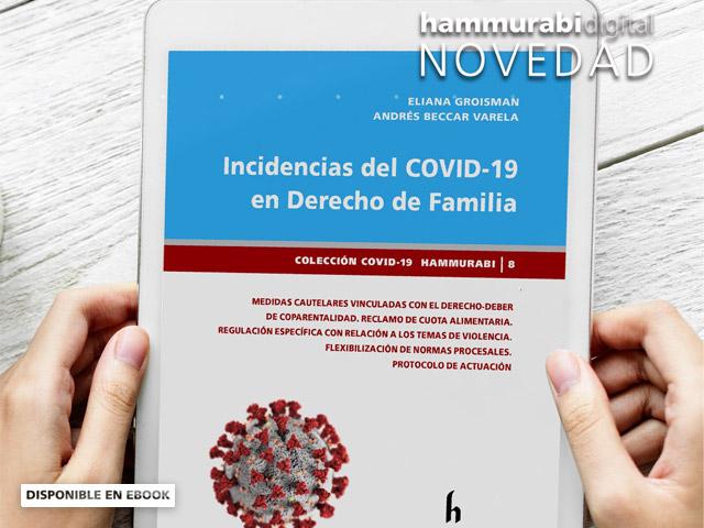 """Lanzamiento Libro: """"INCIDENCIAS DEL COVID-19 EN DERECHO DE FAMILIA"""""""