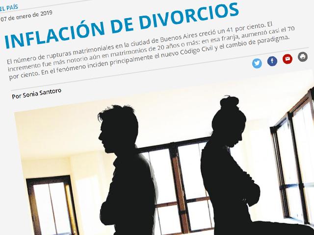 Aumenta la cantidad de divorcios en la ciudad de Buenos Aires – Análisis e incidencias posibles
