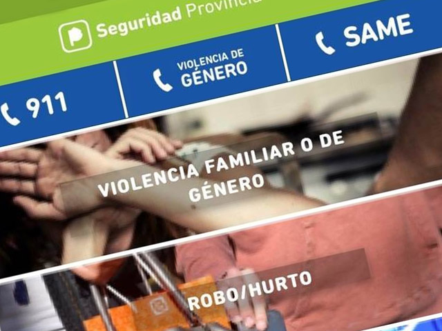 Lanzan una app para denunciar casos de violencia de género en la provincia